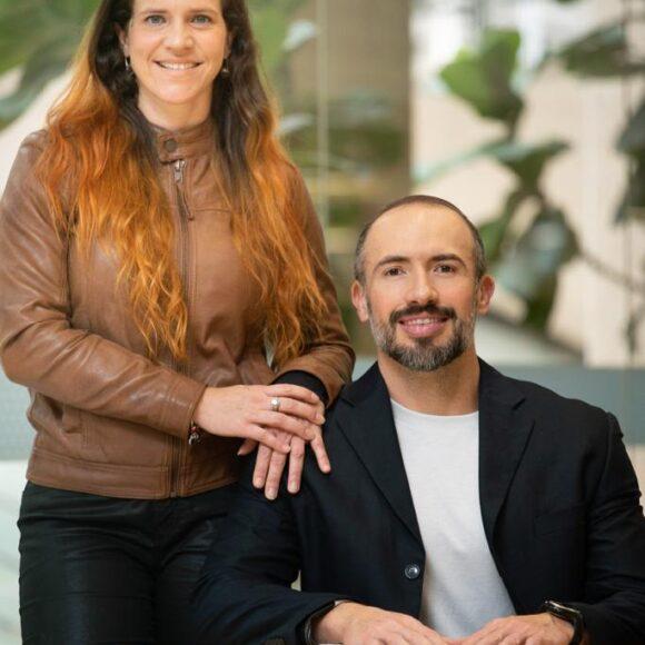 Dani Lana e Gregório Salles - Fundadores da RestartUs